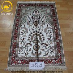 Hand knotted silk rug # Rug No.: P3110# Quality: 180L (225kpsi) # Size: 2.5x4ft (76x122cm) # Material: 100% Silk # wholesale Price: $350/piece # If you have any interests, please email to sales@bosicarpets... handmadesilkcarpet#handmaderug#silkrug#silkcarpet#carpet#persiancarpet#persianrugs#rug#handmaderug#handknottedrug#iranrug#chineserug#turkeyrug#turkishcarpets#silkcarpets#silk#floorrug#hali#ipekhai#redrug#bluecarpet#turleycarpet