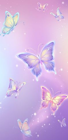 By Artist Unknown. Butterfly Wallpaper Iphone, Heart Wallpaper, Kawaii Wallpaper, Cellphone Wallpaper, Flower Wallpaper, Galaxy Wallpaper, Cute Patterns Wallpaper, Cute Wallpaper Backgrounds, Pretty Wallpapers