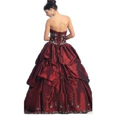 ballroom gown prom dress