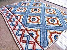 Blair Road Free Blanket Pattern