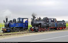 French and Polish steamers on 60 cm inches) track during the Pithiviers Narrow Gauge Steam Festival Felder, Steam Engine, Steamer, Locomotive, Gauges, Transportation, Around The Worlds, Train, France