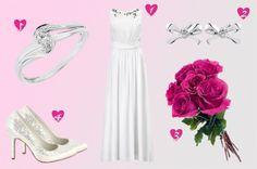 Vestido H&M - http://www.bodas.net/articulos/look-de-novia-low-cost-con-h&m--c2276