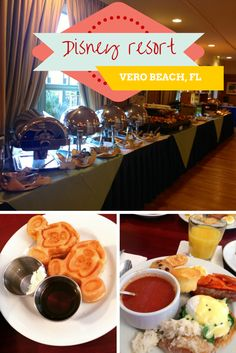 I'm lucky to have a Disney resort in my hometown of Vero Beach, Florida.  They have great buffet options, Sunday brunch, holiday dining, and character dining.
