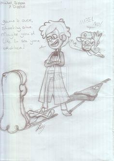 Mabel,+Bipper+and+Dipper+by+12LE5.deviantart.com+on+@DeviantArt