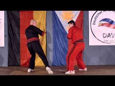 30 Jahre DAV - Modern Arnis Demo Senior Master Hans Karrer - YouTube