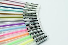 G-32 Pastel and Metallic Gel Pens