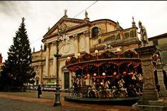 Mercatino di Natale - Christmas Market, Bassano del Grappa, Nov. 22-Dec. 23 In Piazza Libertà, Tuesdays, Wednesdays, Fridays and Sundays, 10 a.m.-7:30 p.m.; Thursdays and Saturdays 2-7:30 p.m.