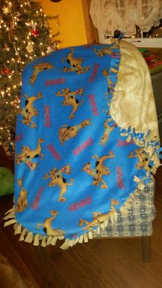Scooby doo blanket by BudzynBlankets on Etsy