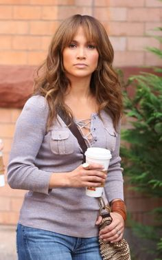 J Lo hair in The Backup Plan