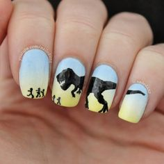 Nailed It NZ: Nail Art Mash Up #3 - Minions, Harry Potter, Jurassic Park & more!