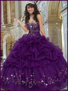 0f2a300f01e Cheap sweet Buy Quality purple ball gowns directly from China puffy gowns  Suppliers  Vintage Purple Ball Gown Puffy Quinceaneara Dresses Cheap 2016  ...