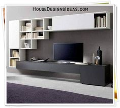 TV Stand Unit Cabinet Ideas Latest 2020 - House Designs