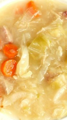 This traditional Polish Cabbage Soup recipe is a staple in our home during the cold winter months. Rich in vitamins and full of flavor! Do you remember the Cabb Polish Cabbage Soup Recipe, Cabbage Soup Recipes, Cabbage Soup Diet, German Cabbage Soup Recipe, Kapusta Recipe Polish, Ukrainian Recipes, Russian Recipes, Ukrainian Food, Gourmet