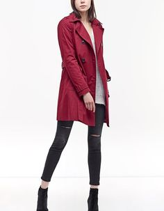 At Stradivarius you'll find 1 Trench coat for just 9995 Hungary . Visit now to discover this and more Jackets.