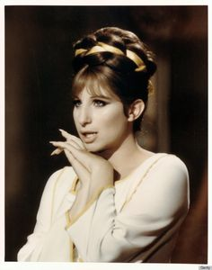 Streisand+closeup | Barbra Streisand's 'Funny Girl' Makeup Was No Laughing Matter (PHOTOS)