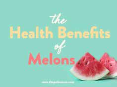 When it comes to melons, eat up! These fruits are not only tasty and refreshing, but they supply a helpful mix of micronutrients and phytonutrients to support our health. Melon Benefits, Health Benefits, Growing Melons, Paleo Mom, Candida Albicans, Honeydew Melon, Gut Microbiome, Juicy Fruit, Beta Carotene