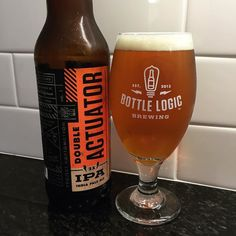Brought home a new favorite Double Actuator Double IPA from @bottlelogicbrewing - Only wish we had bought more!
