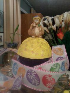 Concert cupcake for the garden
