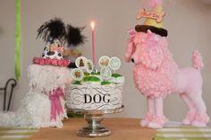 It looks like JoJo & Teddy!    dog theme party