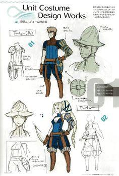 Animation Tidbits • Fire Emblem: Awakening - Concept Art via PinCG.com