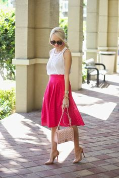 Pink a Eyelet | A Spoonful of Style