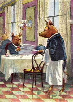 """Children's book """"5 Little Pigs"""""""