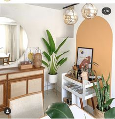 Home Staging, Bar, Entryway Tables, Instagram, Furniture, Portal, Home Decor, Being In Love, Plant Decor