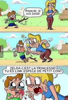 Regarde maman, je suis Zelda...