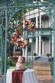 Winter Wedding Inspiration at the Benachi House | GK Photography | Blue Gardenia Events  | Reverie Gallery Wedding Blog