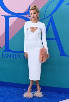 Hailey Baldwin || The 2017 CFDA Fashion Awards @ Hammerstein Ballroom in NYC (June 5, 2017)