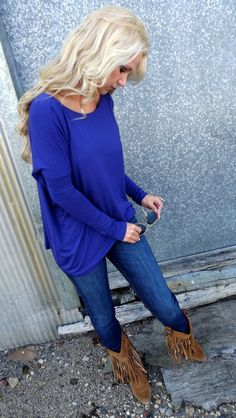 Cobalt Piko I just bought this! My fav color! Yay! This website has so many cute tops! I purchased a few! Xoxox fashion!
