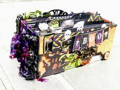 halloween scrapbook tags - Google Search