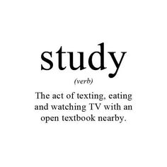 Exactly ! #study #definition #midterm
