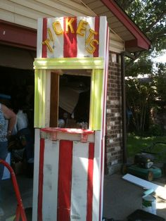 ticket booth after