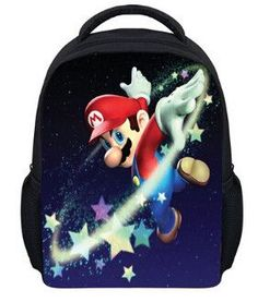 53b83d145f 13 Inch Anime Sonic Super Mario Backpack Students School Bags Boys Girls  Daily Backpacks Children Bag Kids Best Gift Backpack