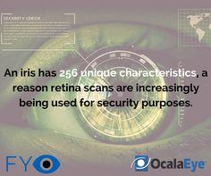 A fingerprint only has 40 unique characteristics. #fyEYE