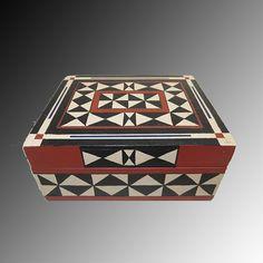 Caja decorativa de madera. #Cajas #Madera #Wood #Box #Jewelry #Joyero #Handmade #HechoAMano