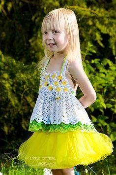 Ravelry: Daisy Halter Top pattern by Alla Koval
