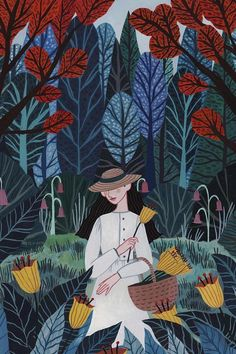 #Illustration by Rachael Dean #illustratedwomen