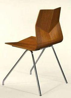 René-Jean Caillette's diamond chair, 1957.