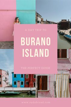 Take a day trip to Burano from Venice and get all of the Burano tips in this free guide. Explore things to do in Burano, how to get to Burano from Venice, and shop Burano lace! Plan your trip to the most colorful town in Italy with this guide. #buranoitaly #buranolace #buranoitalyphotography #buranovenezia Travel Abroad, Travel Europe, European Travel, Usa Travel, Best Travel Guides, Venice Travel, Italy Travel Tips, Traveling Tips, Europe Destinations