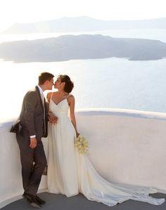 get married in #Santorini #Greece