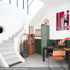 Grün und Orange sind die Farben der 50er Jahre. - mehr auf roomido.com