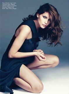 Laetitia Casta by Paul Schmidt for Glamour France February 2013