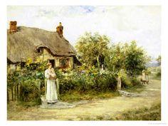 Mother's Welcome,  Giclee Print by Henry John Yeend King.