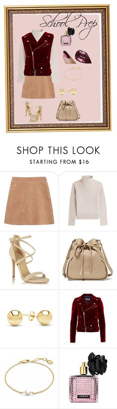 """""""Preppy Highscool Girl"""" by abby526 on Polyvore featuring See by Chloé, Vanessa Seward, Miss Selfridge, Nina Ricci, Jewelonfire, Missoma and Victoria's Secret"""