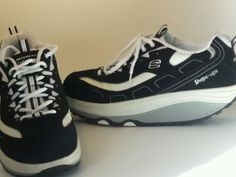 Make and offer on these next to new>>Skechers Women's Shape Ups Strength Fitness Walking Sneaker size 10 Black Shoes #Skechers #ShapeUps