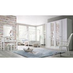 WIMEX Schlafzimmer-Set »New York«, Höhe 208 cm bzw. 236 cm (4-tlg ...