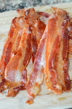 This to cook Bacon PERFECTLY every time in the oven! is a good for your dessert made with awesome ingredients! Oven Cooked Bacon, Cooking Bacon, Cooking Recipes, Breakfast Lasagna, Breakfast Recipes, Bacon Recipes, Low Carb Recipes, Nu Wave Oven, Good Food