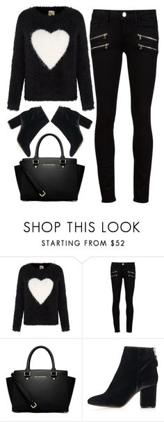 """love"" by ecem1 ❤ liked on Polyvore featuring Yumi, Paige Denim, MICHAEL Michael Kors and Topshop"